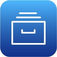 blue file drawer icon